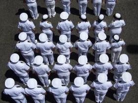 Desfile militar de la Armada - Medellín