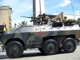 Tanque Urutu - Medellín