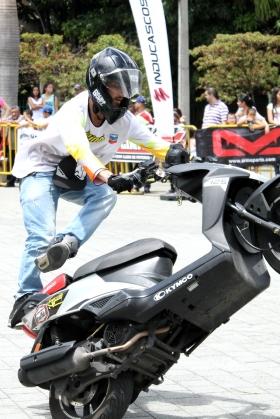 Scooter Stunt