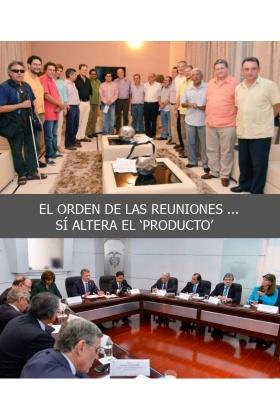 Acuerdo de Paz - Reunión Uribe y Santos - Colombia