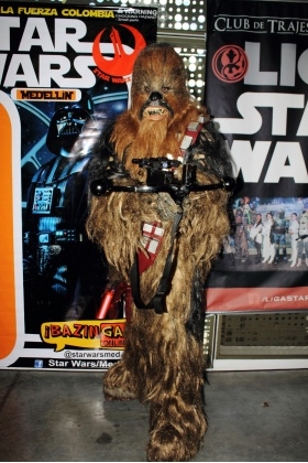 Chubaca - Star Wars Cosplayer - Comic Con Colombia 2016