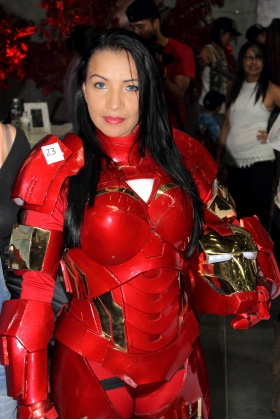 Iron Man Cosplayer - Cómic Con Colombia 2016 - Medellín