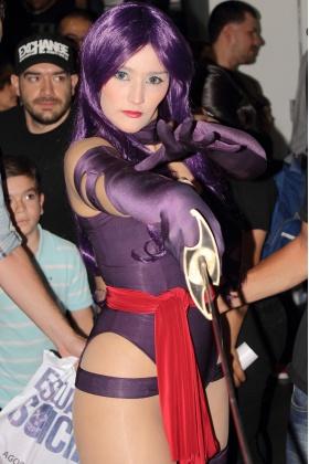 Comic Con Colombia - Psylocke Cosplay - Arual Ebiru - Medellín