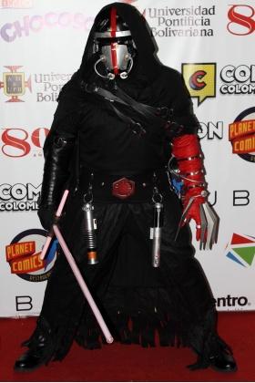 Kylo Ren - Ben Solo Cosplayer - Comic Con Colombia - Medellín