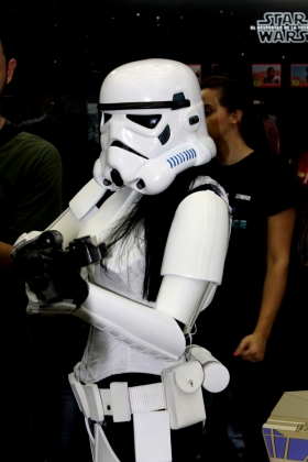 Cosplay Star Wars Stormtrooper