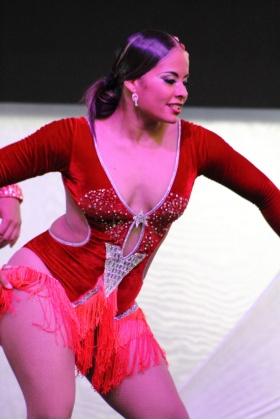 Bailarina de Salsa - Ritmo Extremo - Medellín