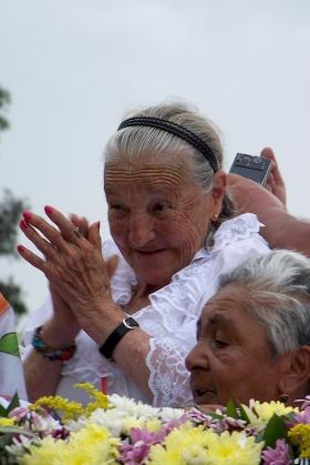 Abuela Silletera - Desfile de Silleteros