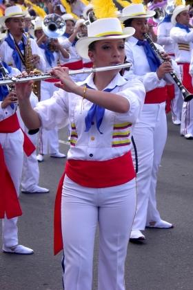 Feria de las Flores - Banda Músico Marcial