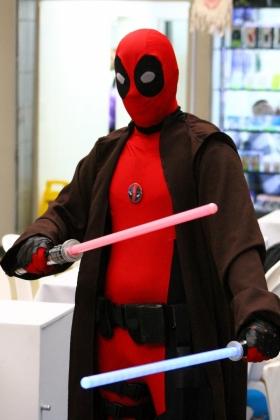 Deadpool Cosplayer - Centro Comercial Monterrey