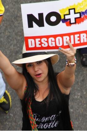 Marcha Abril 2 Medellín