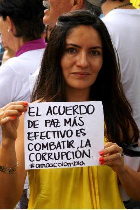 Combatir la Corrupción - Colombia