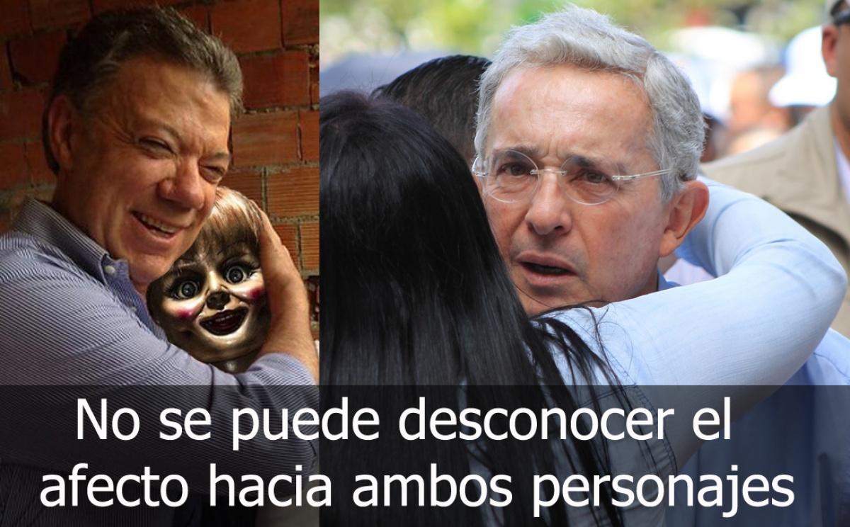 Memes - Uribe y Santos