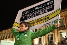 Claudia López contra Álvaro Uribe