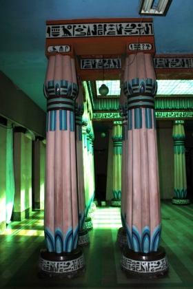 Palacio Egipcio - Columnas Salón Principal - Medellín