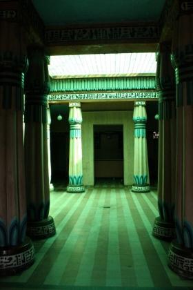 Palacio Egipcio - Salón Principal - Vista frontal - Medellín