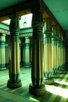 Palacio Egipcio - Salón Principal - Vista Posterior - Medellín