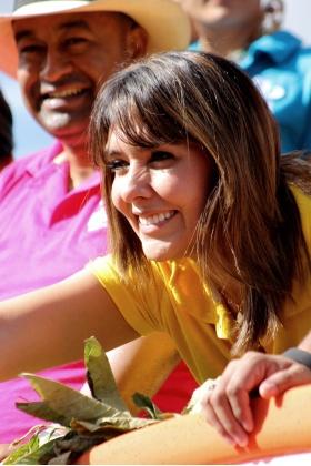 Mónica Rodríguez - Presentadora Día a Día Caracol - Medellín