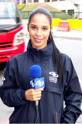 Presentadora Caracol Noticias - Diana Pérez - Medellín