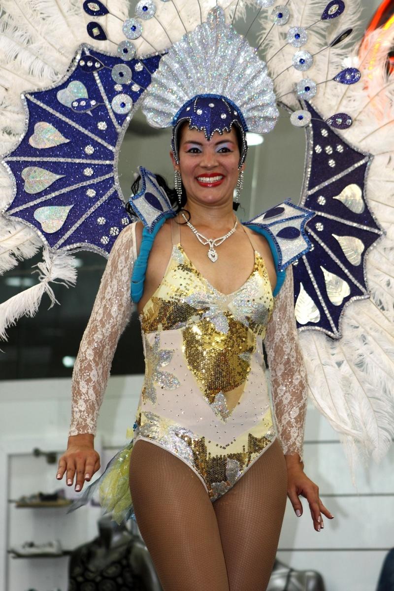 Expresiones Artísticas - La Jarana - Bailarina de Samba
