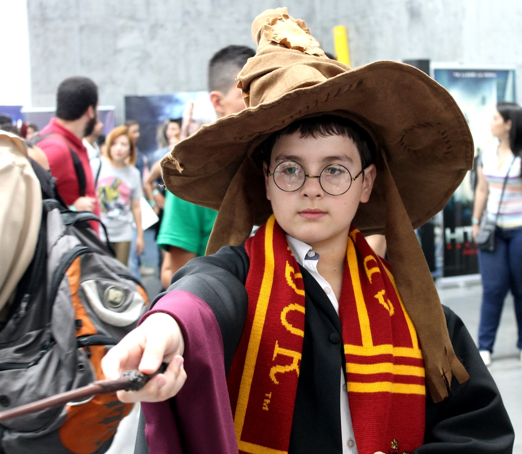 Comic Con Medellín - Cosplay Harry Potter - Colombia