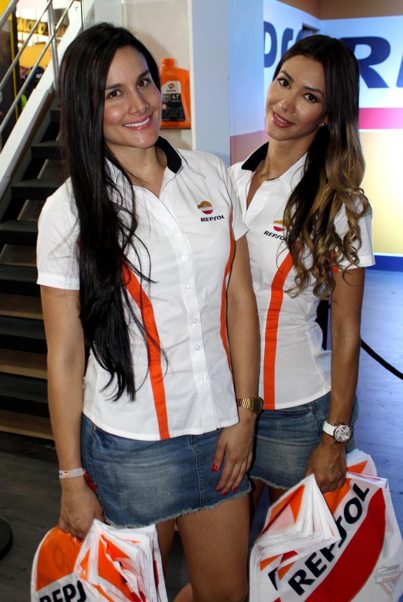 Feria de las Dos Ruedas - Modelos Repsol - Medellín