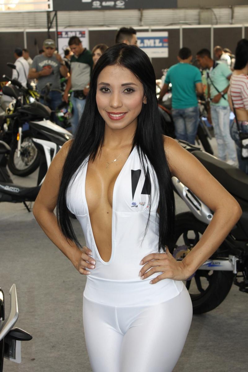 Feria de las Dos Ruedas - Medellín 2015 - Modelo Motos Jialing