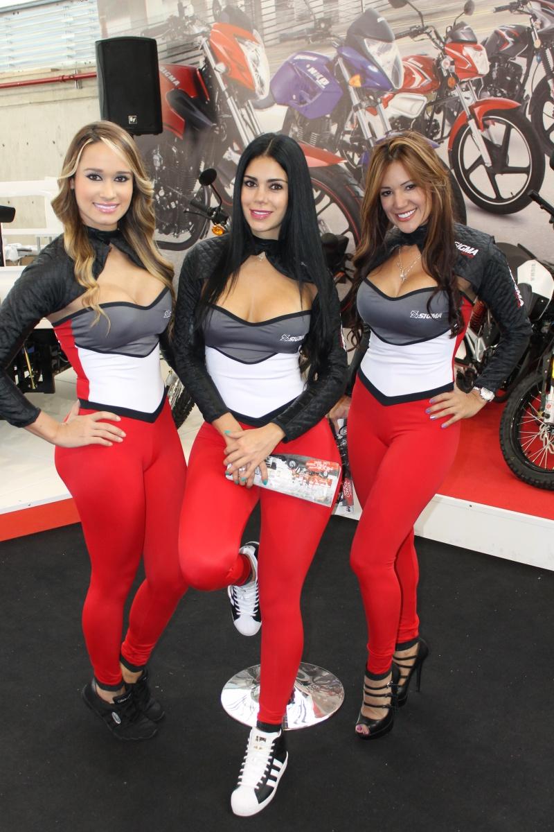 Feria de las Dos Ruedas - Modelos Sigma Motos Medellín