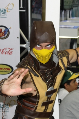 Colombia Cosplay Scorpion