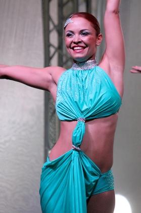 BNF- Bailarina de Salsa - Sandra Milena Ramírez
