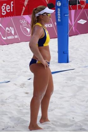 Voley Playa Colombia - Julia Schmidt - Selección Brasil