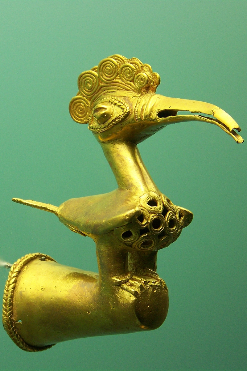 Urbano - Cartagena - Museo del Oro - Pájaro