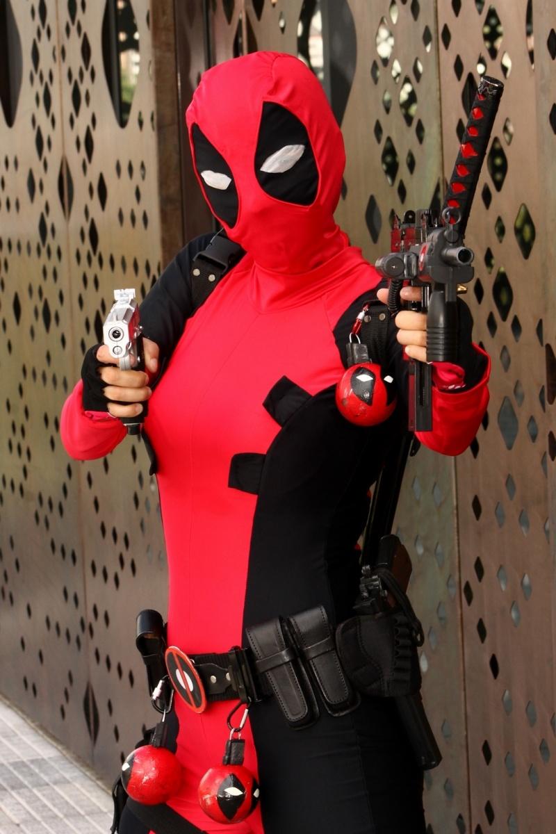 Personas - Luna Barrero Cosplayer - Deadpool - Medellín - Colombia
