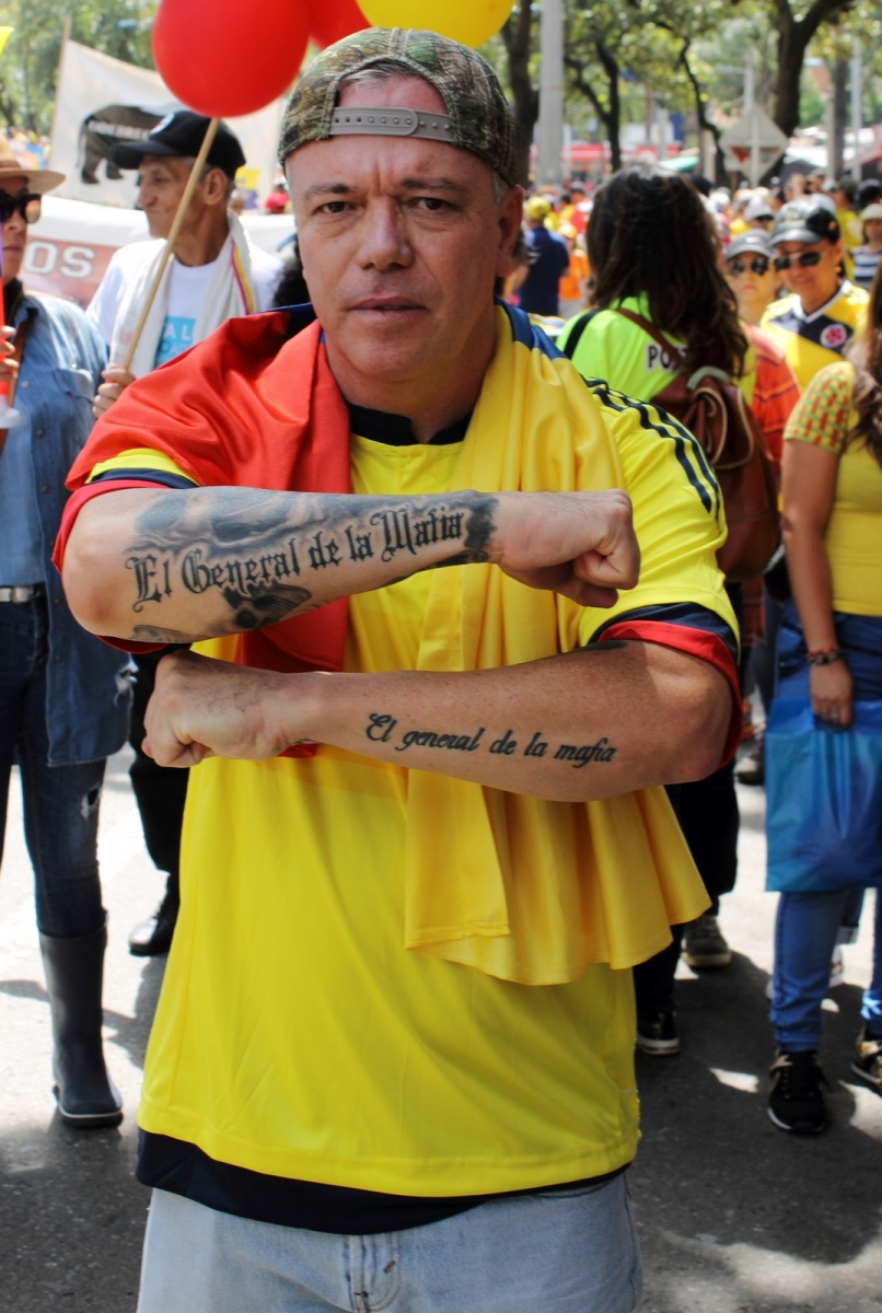 Urbano - Marcha 1 de Abril de 2017 - Popeye - Medellín - Colombia