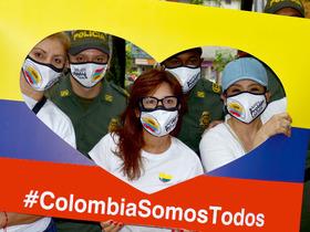 Colombia somos todos - Participantes