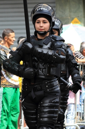 20 de Julio - Escuadrón Antidisturbios ESMAD - Medellín