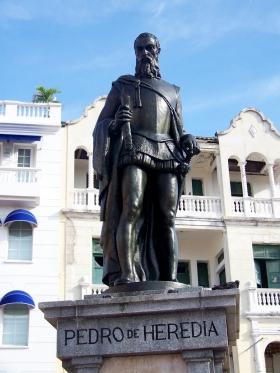 Cartagena - Monumento Pedro de Heredia