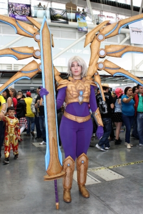 Comic Con Medellín - Aether Wing Kayle - Cosplayer