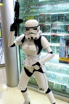 Cosplayer Luna Barrero - Stormtrooper
