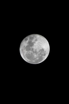 Luna Llena - Enero 24 de 2016 - Canon T3