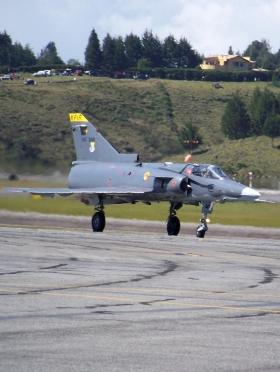 Avión Kfir - Rionegro - Colombia