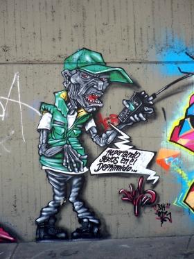 Medellín - Graffiti - Espacio Público