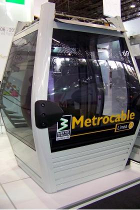 Cabina Metrocable Línea J - Medellín - Colombia