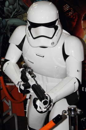 Comic Con Colombia - Starwars First Order Stormtrooper - Medellín