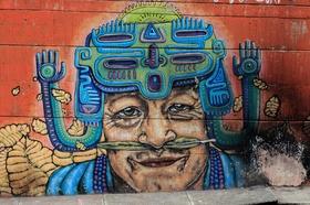 Graffiti - Calle San Juan - Medellín - Colombia