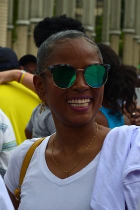 Asistente Marcha #UribeEsColombia