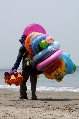 Vendedor de Playa - Cartagena - Colombia