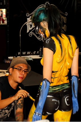 Body Painting - Pintura Corporal - Medellín - Colombia